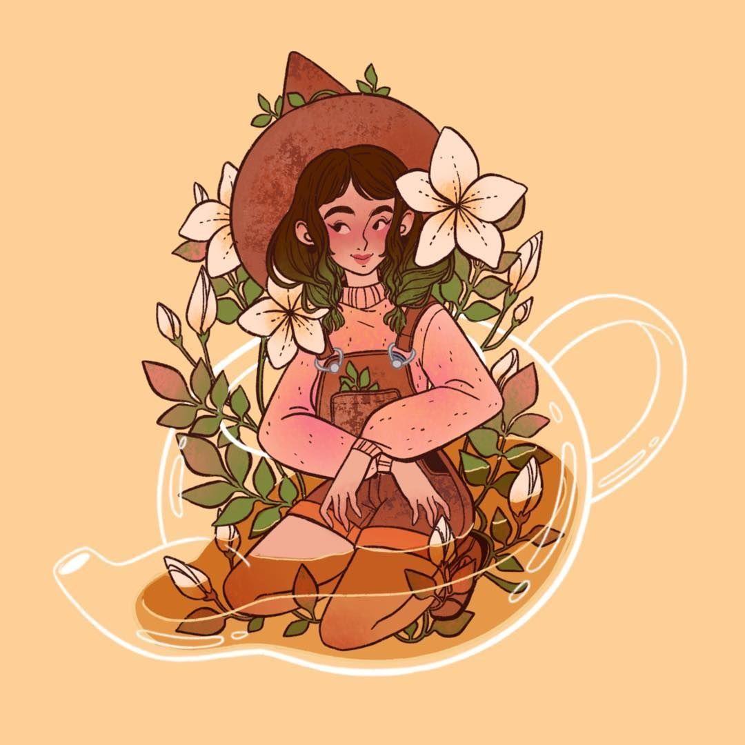 Featured Artist Lanajay Art Cute Art Art Witch Art