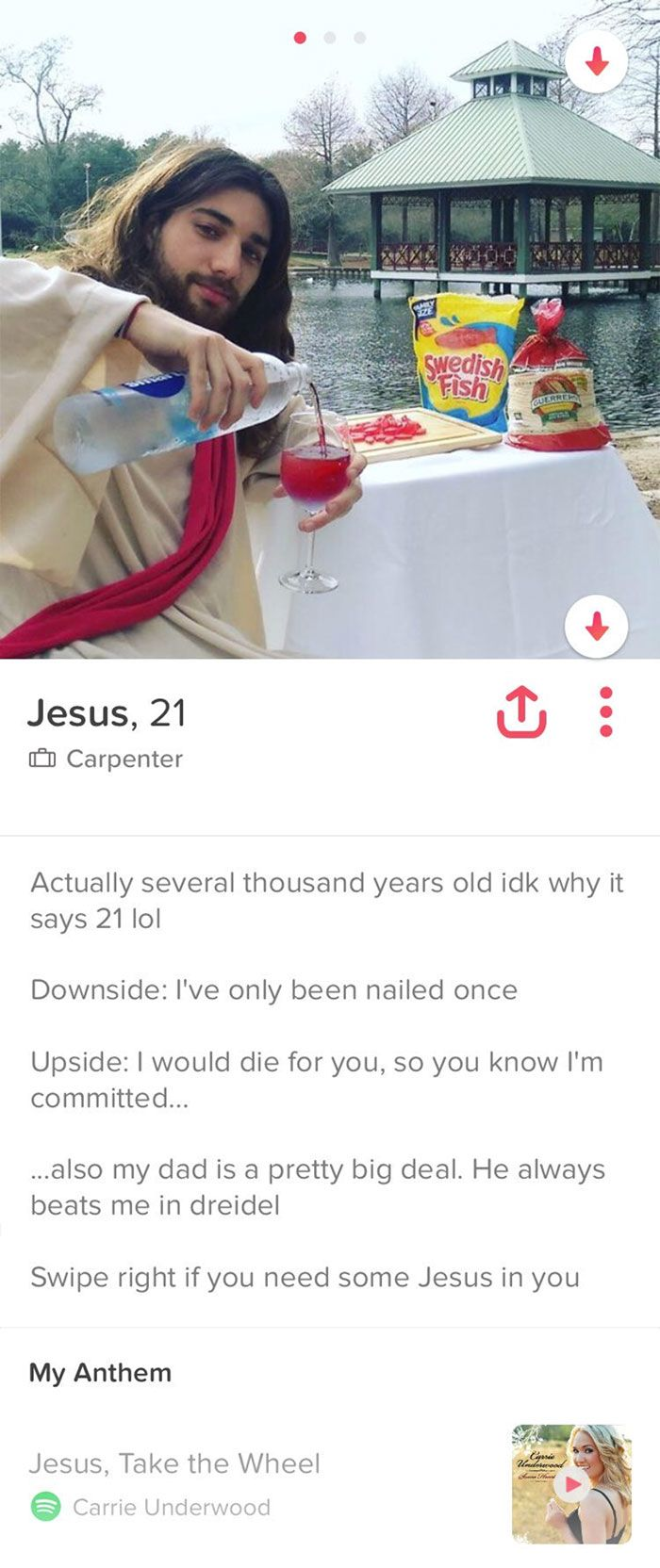 158 Funny Tinder Profiles That Will Make You Look Twice