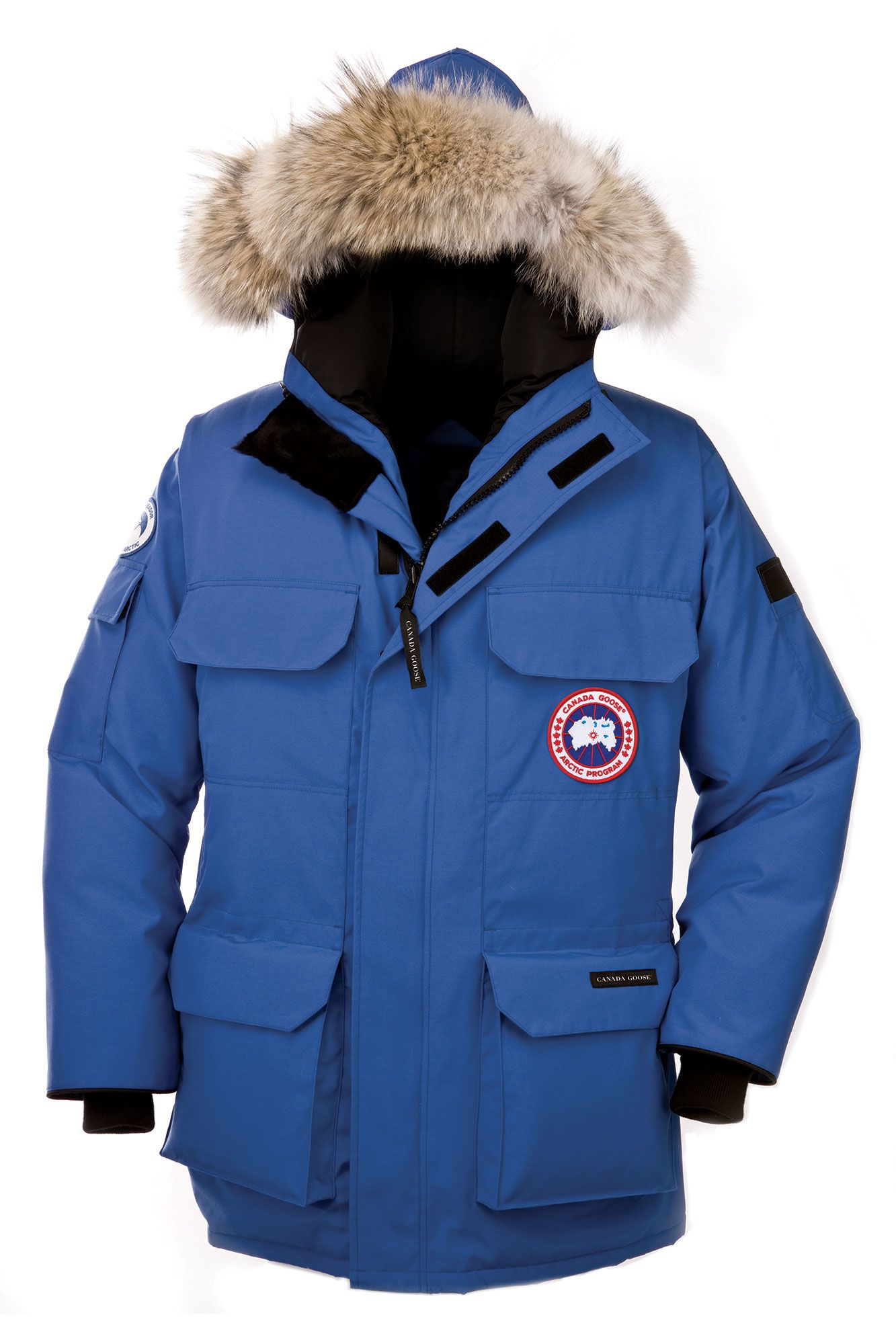 canada goose jacket mens blue