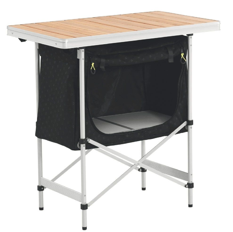 CampingSchrank »Regina Kitchen Table with Bamboo Tabletop