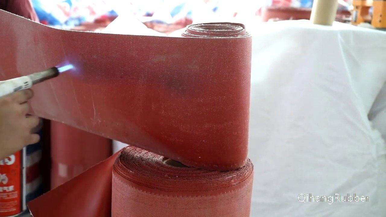 Fiberglass Cloth Fireproof Waterproof Mildew Proof Silicone Coating Glas