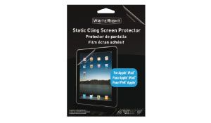 Protector de Pantalla para apple ipad 18.42x23.5 cm. 2h. incluye gamuza microfibra y tarjeta alisadora - 3,95€