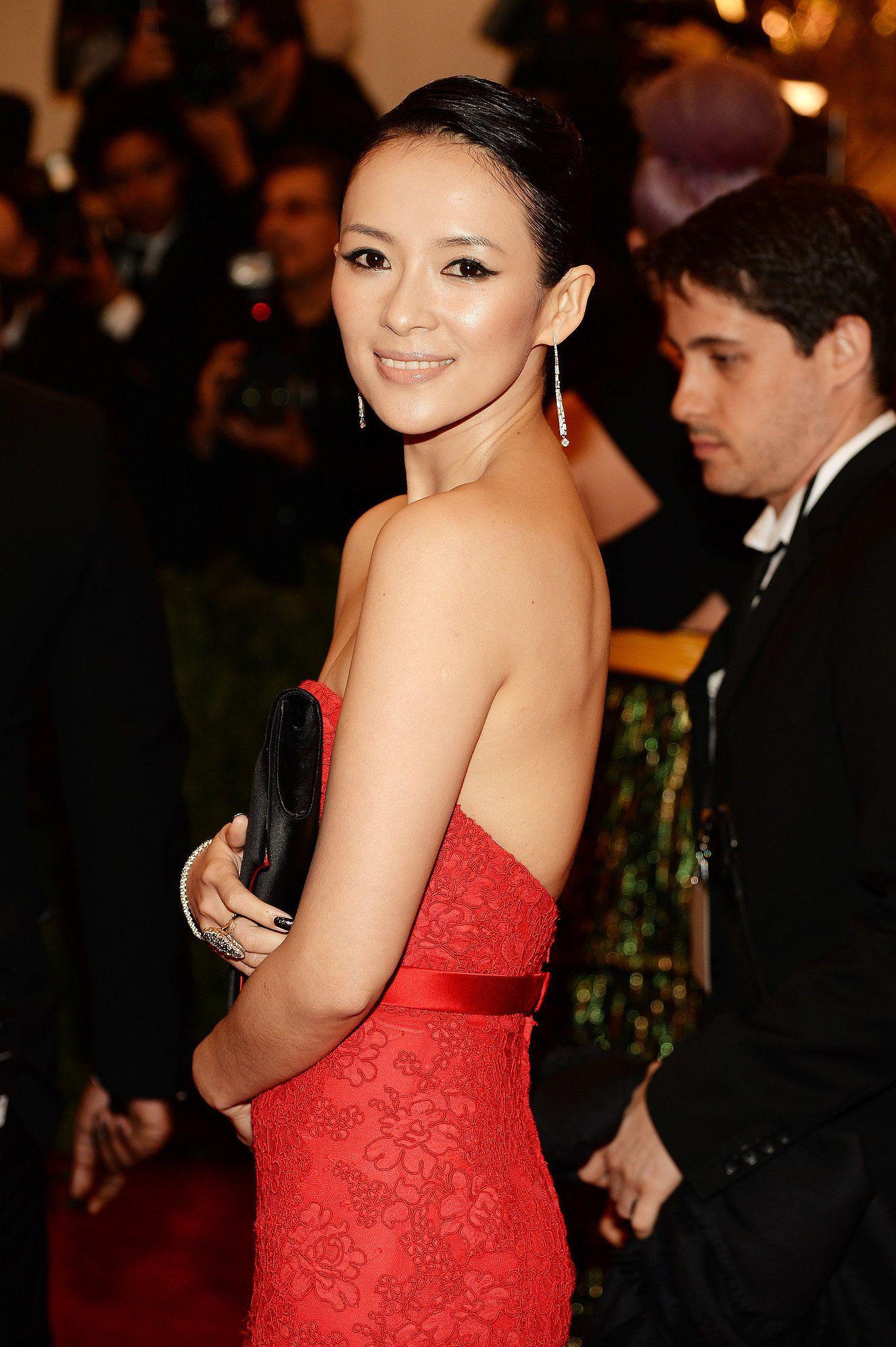 Zhang Ziyi Pink Lipstick - Zhang Ziyi Beauty Looks