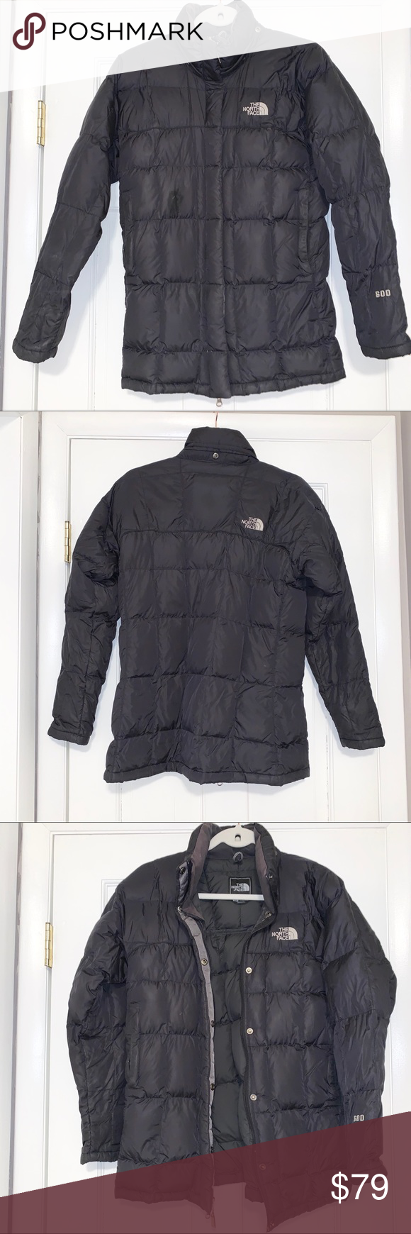 Hp The North Face 600 Puffer Black Coat Jacket Fashion Black Puffer Coat Clothes Design [ 1740 x 580 Pixel ]