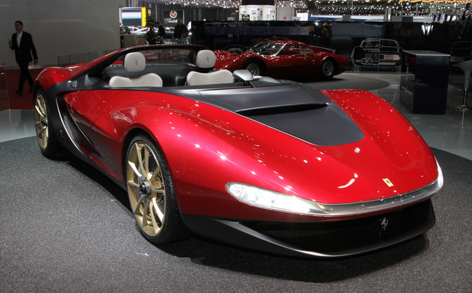 The Sergio Concept is based on the Ferrari 458 Spider and is a fitting tribute to the legend Sergio Pininfarina