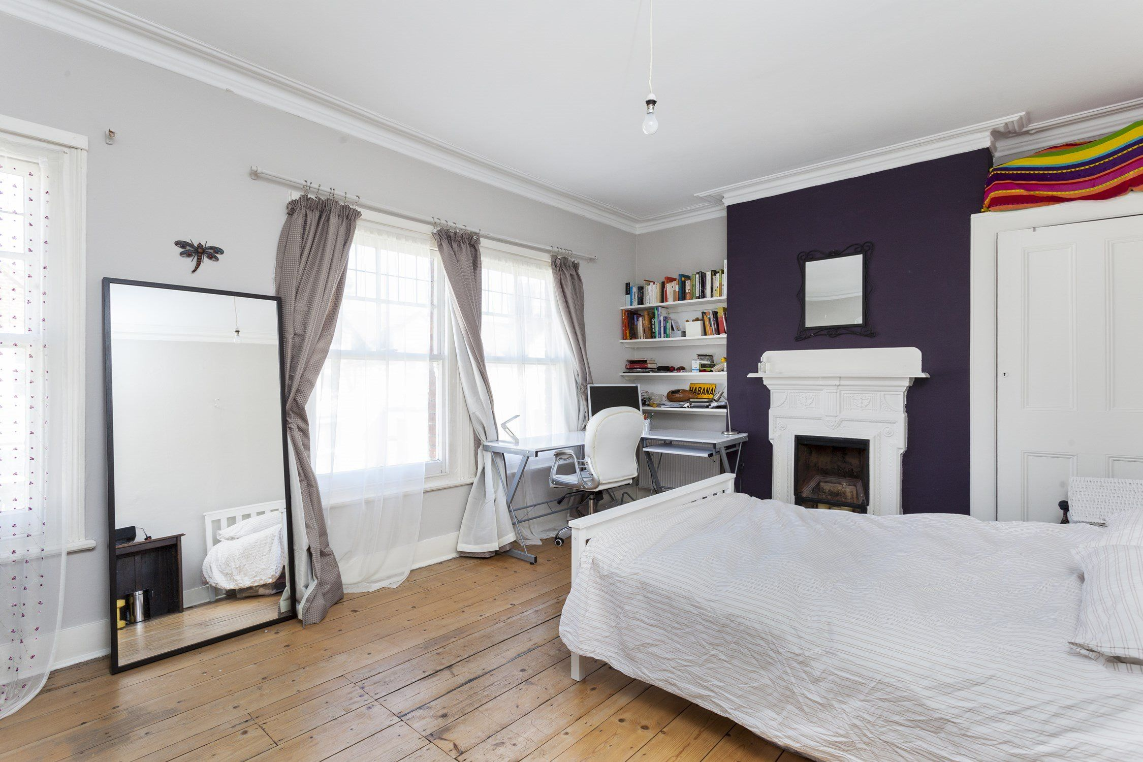 5 bedroom house interior  bed flat recently sold sstc in clapham north sandmere road sw
