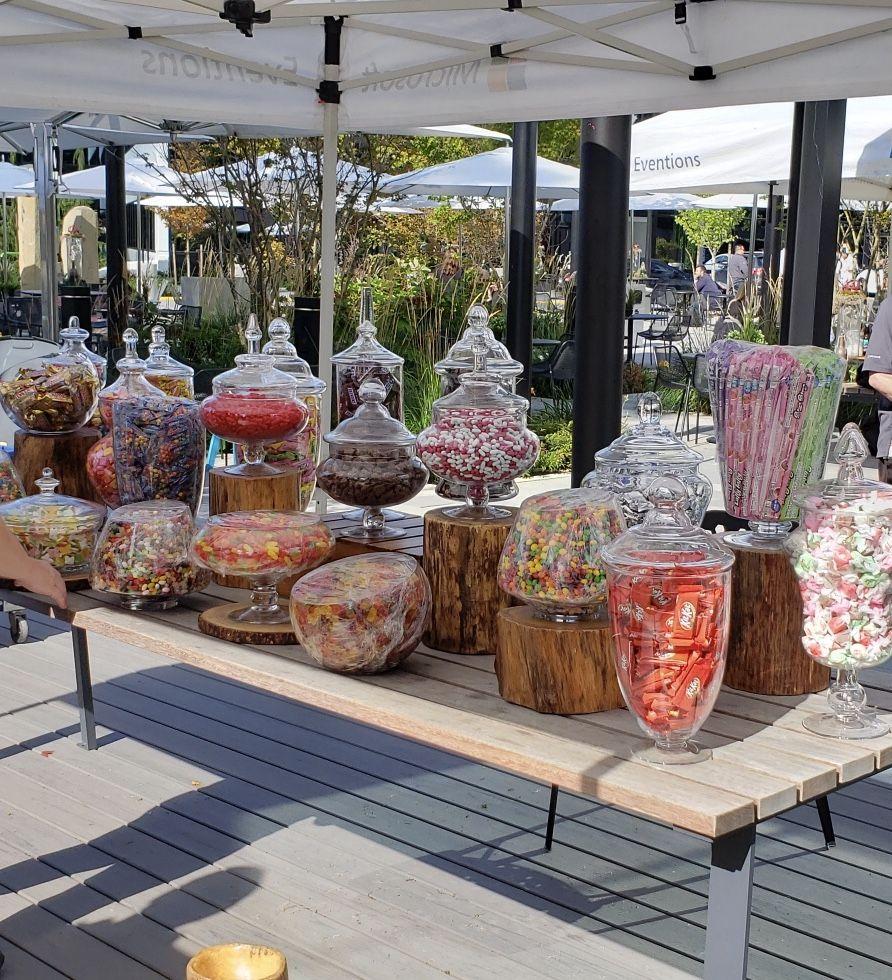Candy bar sweet buffet buffet wedding supplies