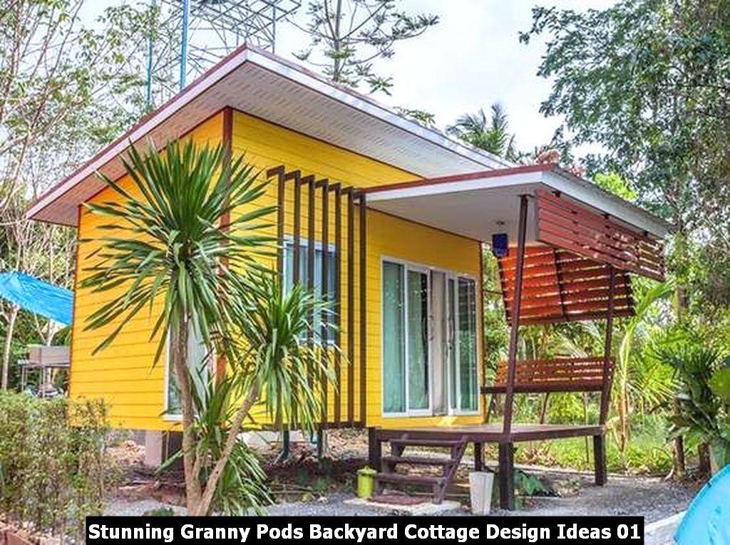 Stunning Granny Pods Backyard Cottage Design Ideas Sweetyhomee Backyard Cottage Granny Pod Cottage Design