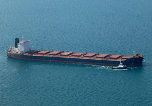 Hanjin Heavy Delivers Two Bulk Carriers The vessels, named