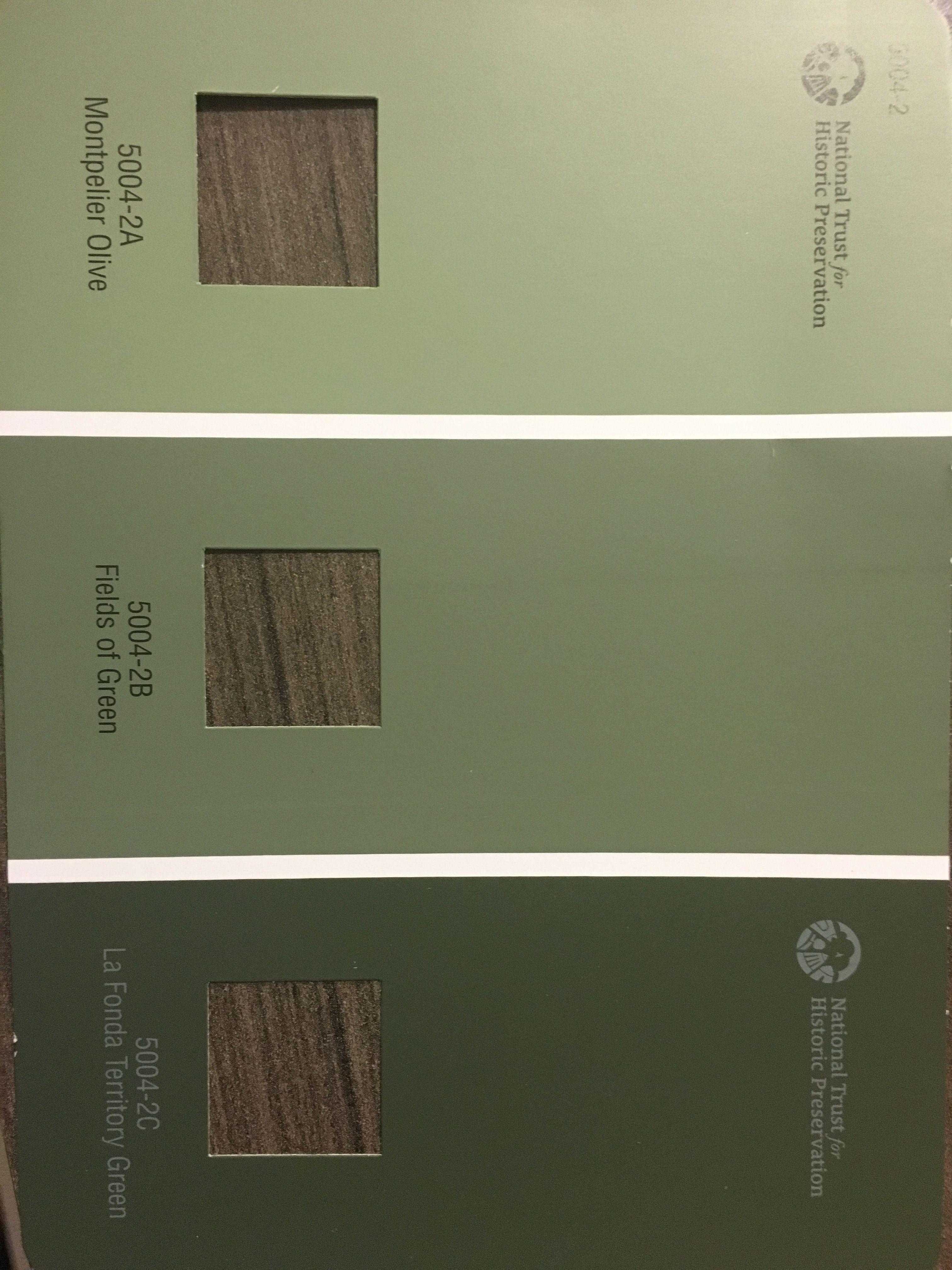 Valspar Trim Colors La Fonda Territory Green For