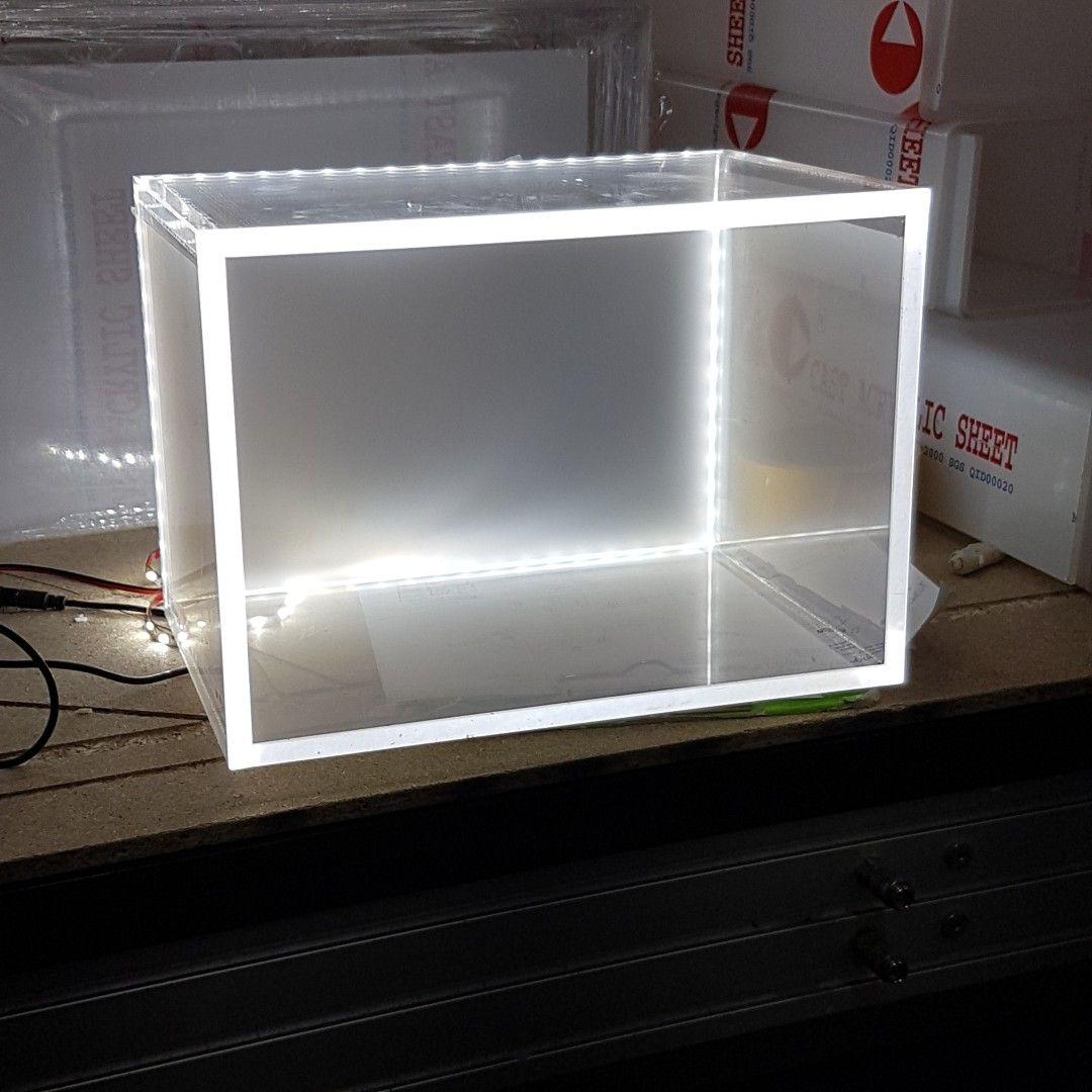 Led Light Illuminated Acrylic By Acryplex