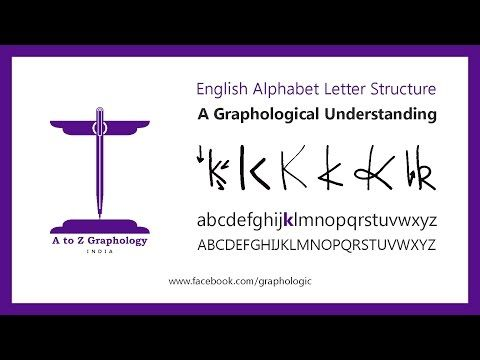 Graphology meaning of letters