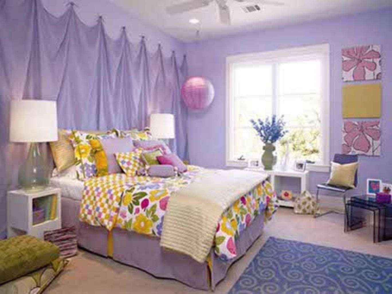 amazing kids bedroom ideas calm. Amazing-purple-themed-for-teenage-girl-using-small-bedroom -with-white-wood-and-window-style-inspiration-calm-bed -combination-furniture-ideas-after-\u2026 Amazing Kids Bedroom Ideas Calm C