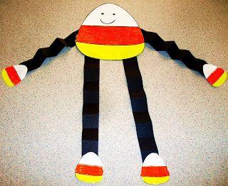 Halloween Craft Ideas For Kids 2nd Grade.Candy Corn Craft Activity Preschool Firstgrade