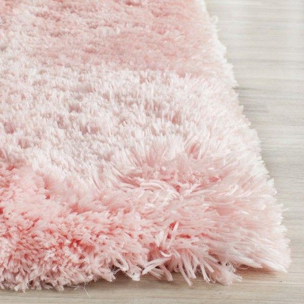 Safavieh Handmade Arctic Shag Pink Polyester Rug 64