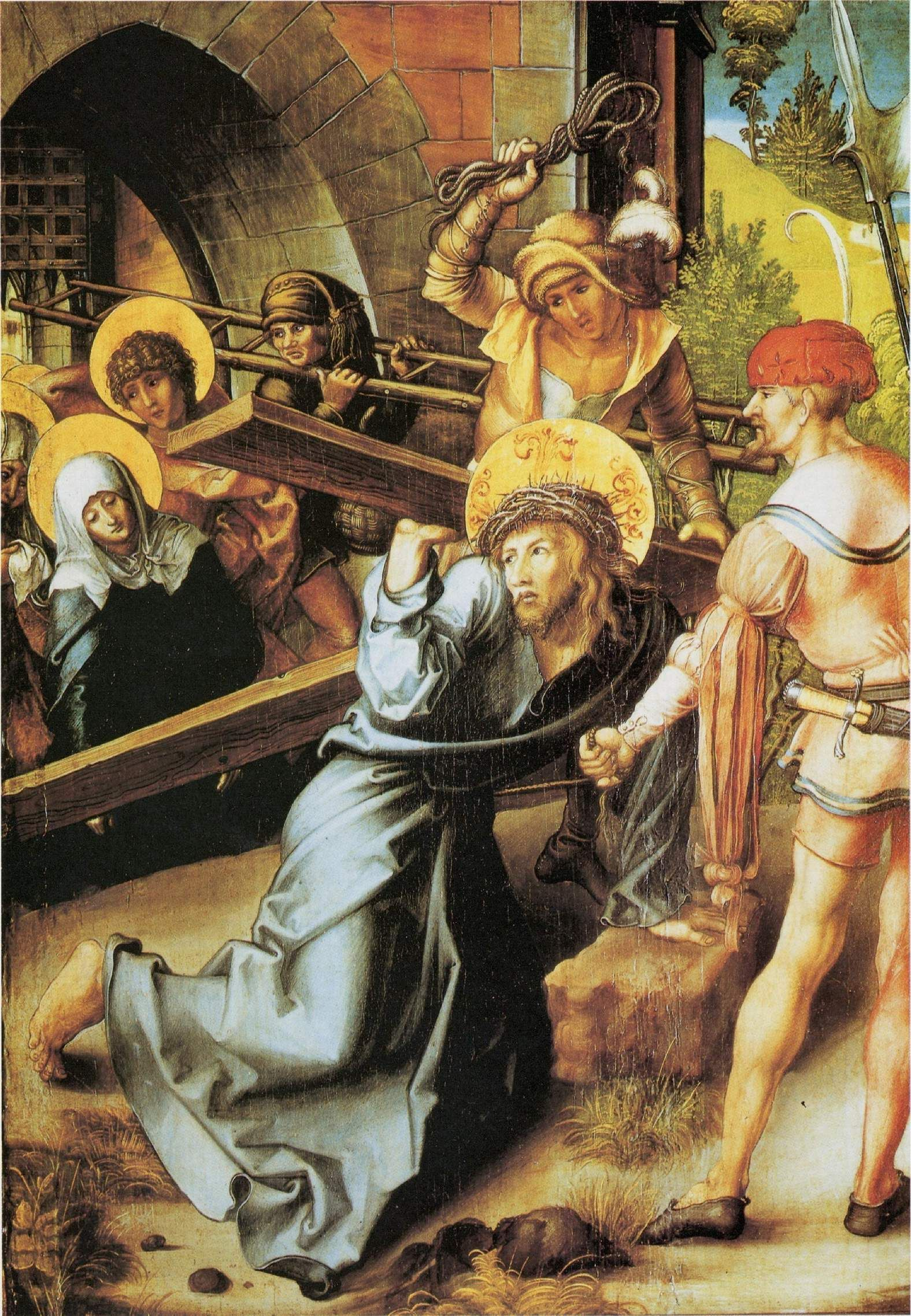 Albrecht Dürer : Le Portement de Croix (Gemäldegalerie à Dresde)