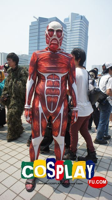Bertholdt Fubar Cosplay from Attack On Titan at コミックマーケット84(Comiket 84)
