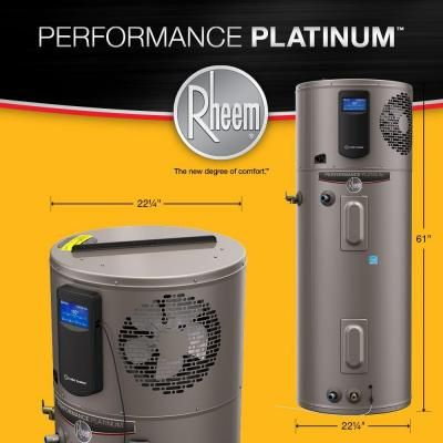 Trending In The Aisles Rheem S Platinum Series Hybrid Water Heaters The Home Depot Community Home Depot Water Drip Coffee Maker