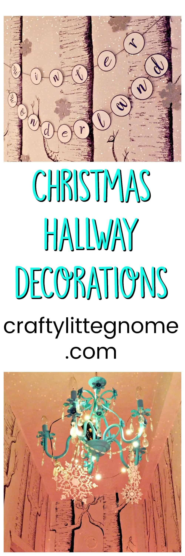 Teal hallway ideas  Christmas Hallway Decorations  Female Bloggers Free for All