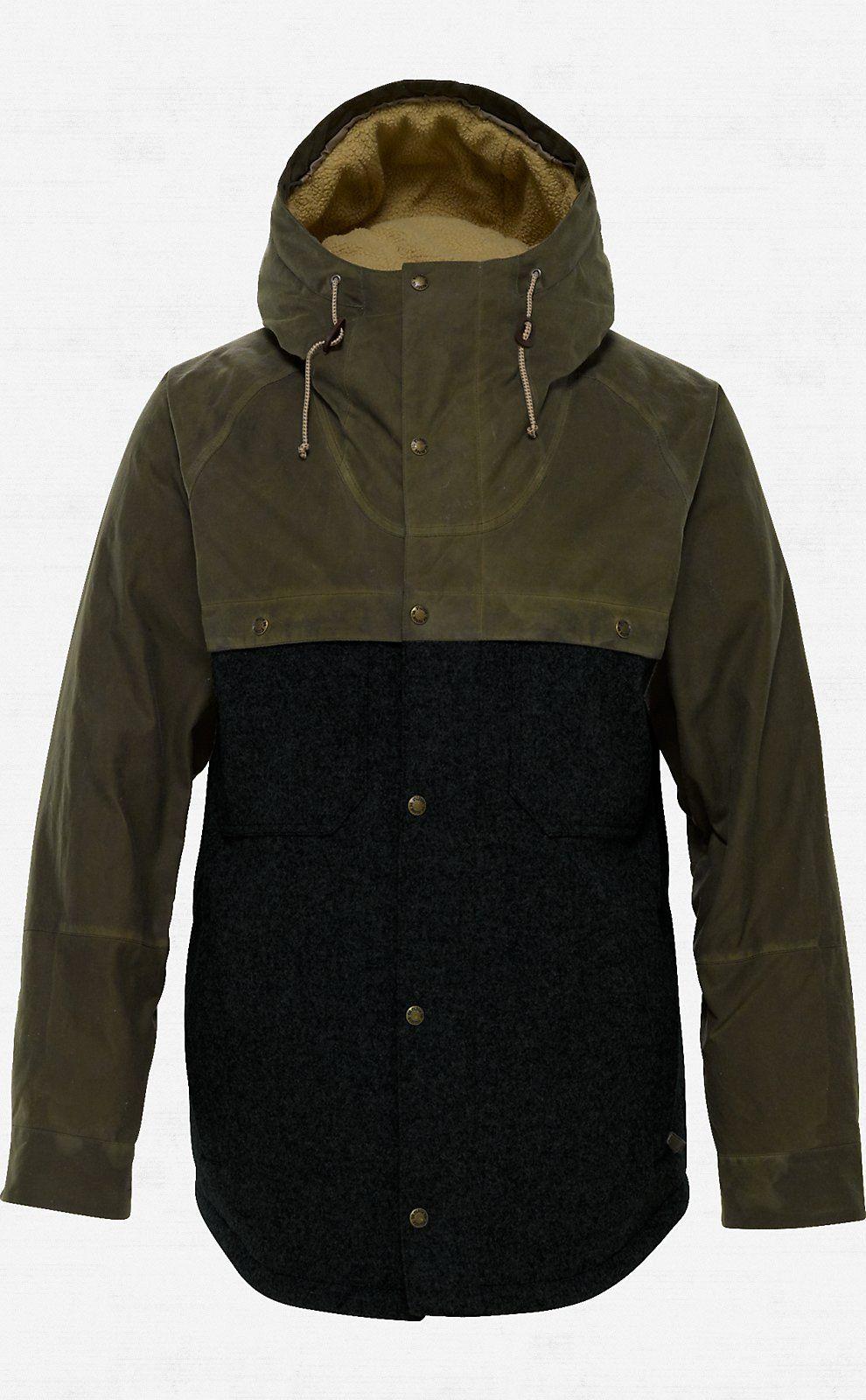 cabdd87796ae Filson® X Burton Squire Snowboard Jacket