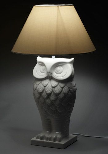 Owl lit up lamp modcloth