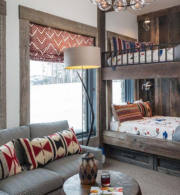 Modern Cozy Mountain Home Design Ideas 30: Sumptuous Montana Retreat Featuring Cozy Rustic-modern