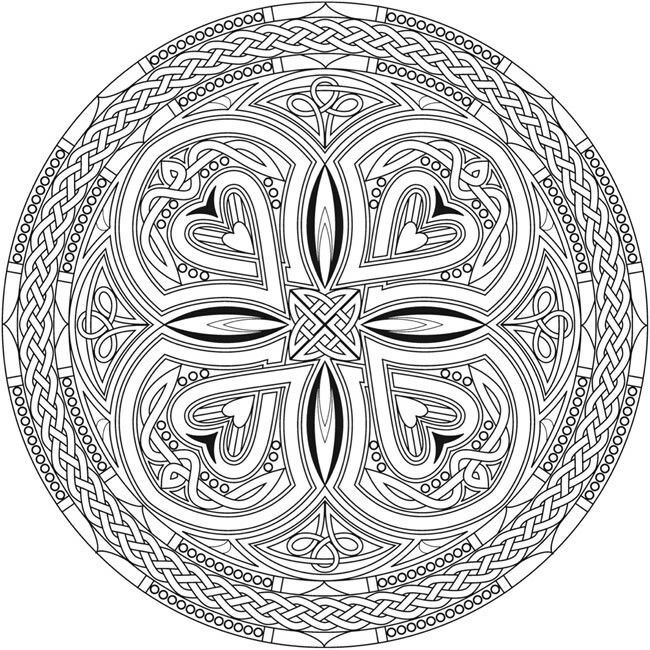 Pin By Laura On Colouring Pages For Adults With Images Mandala