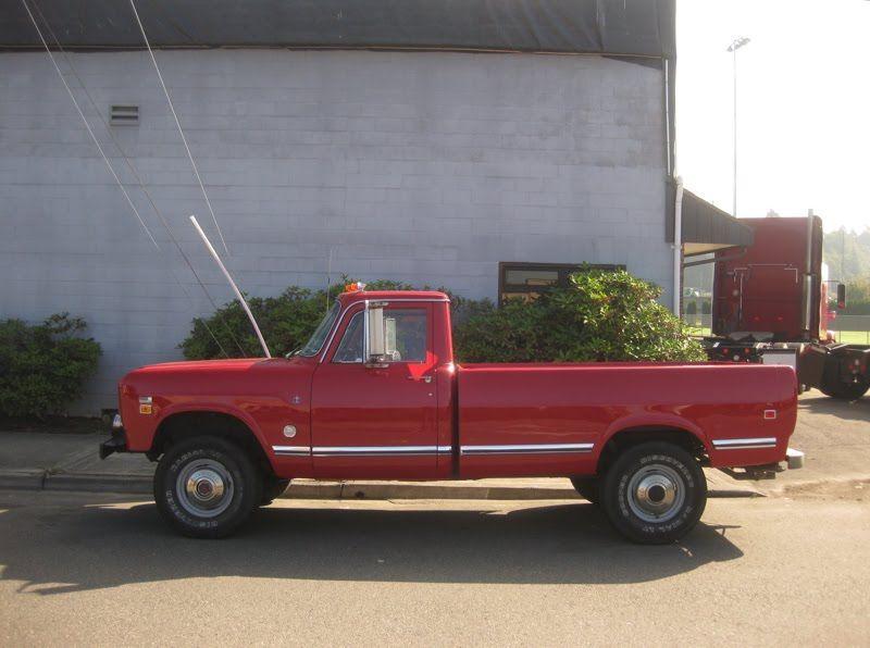 Old Parked Cars 1974 International Harvester 200 Pickup International Harvester International Harvester Truck International Pickup Truck