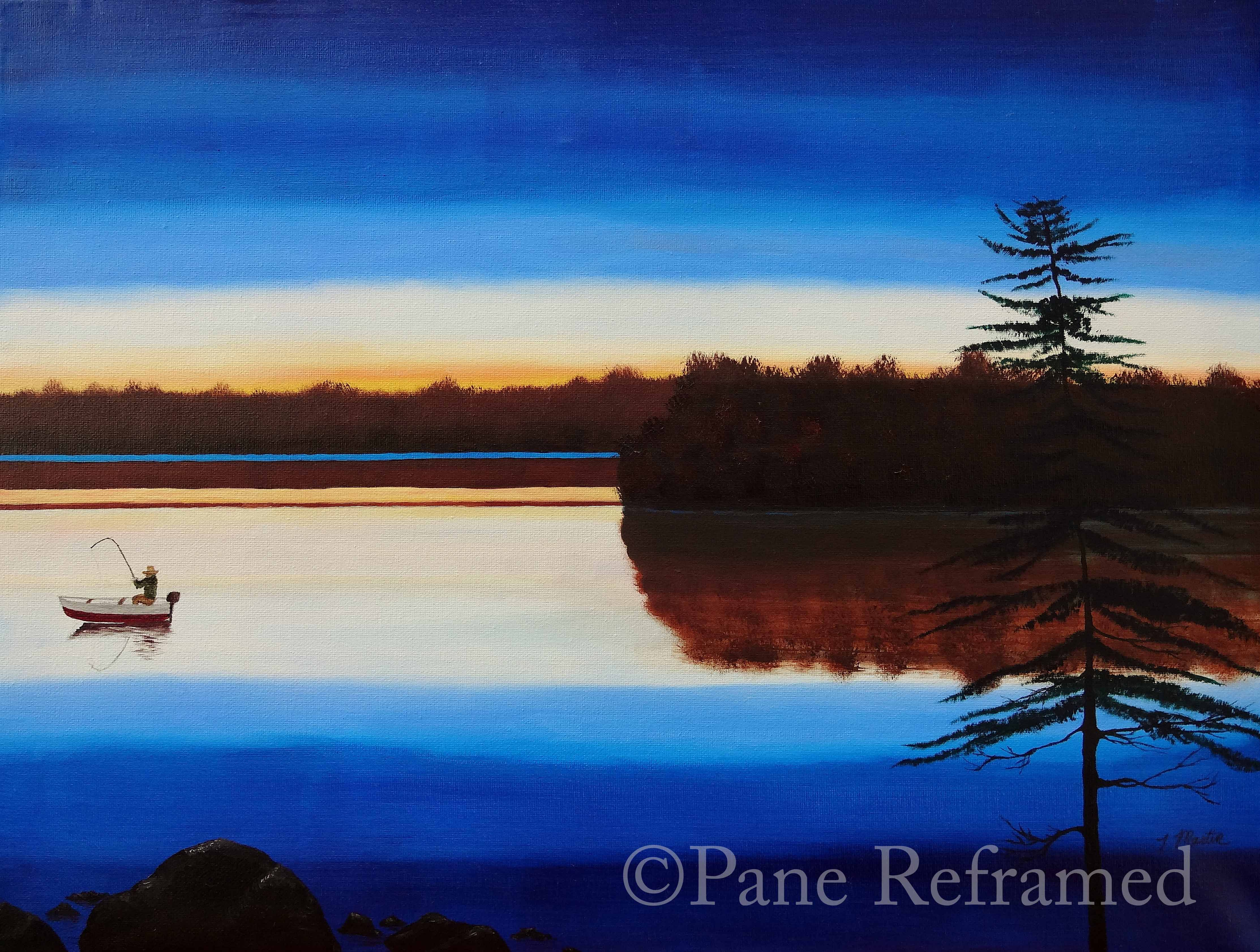 Oil painting prints available to purchase.