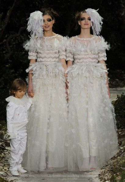 Karl Lagerfeld on his same-sex haute couture statement