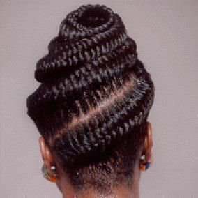 fishtail cornrows natural hair