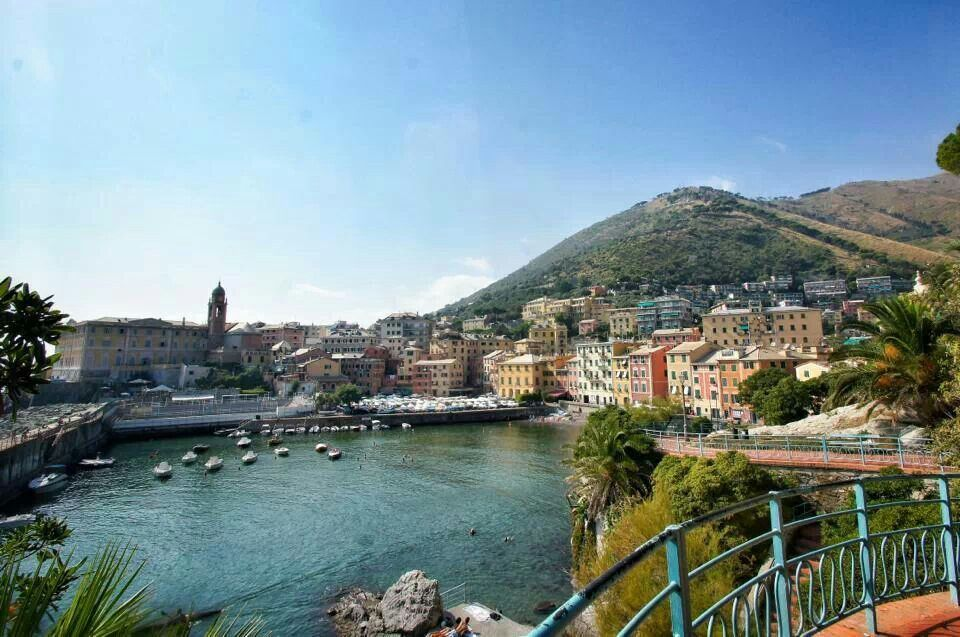 Nervi, Genova.
