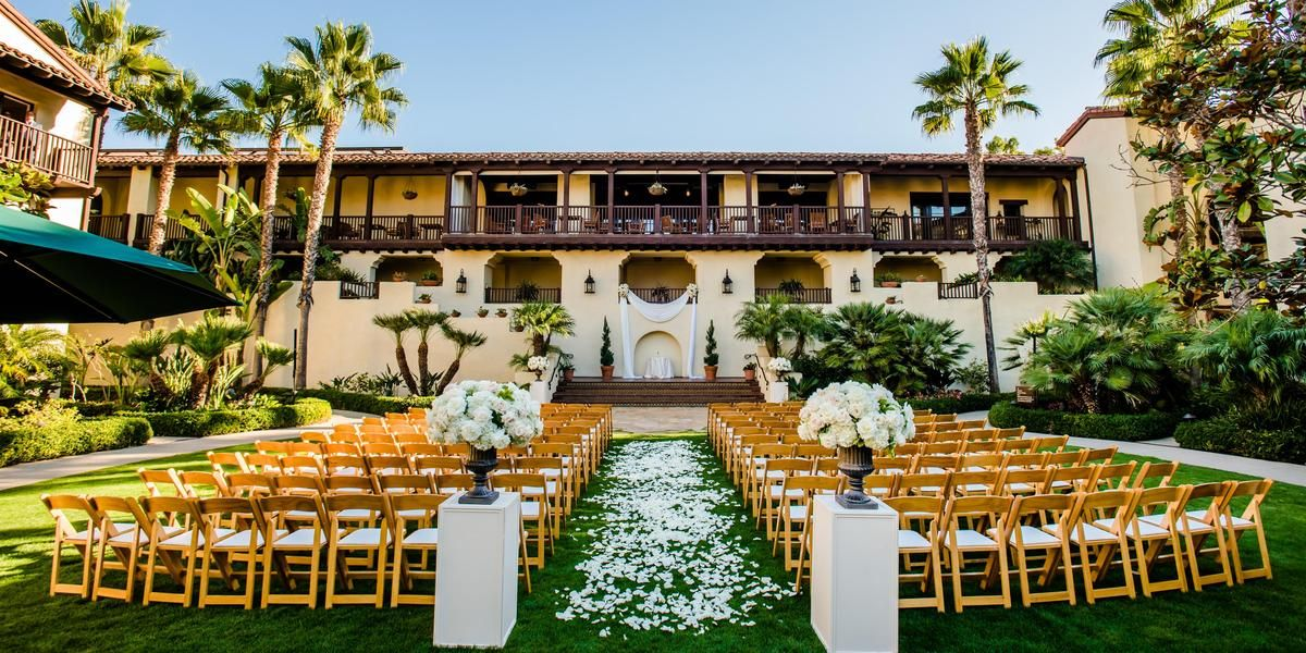 Estancia la jolla hotel spa weddings price out and