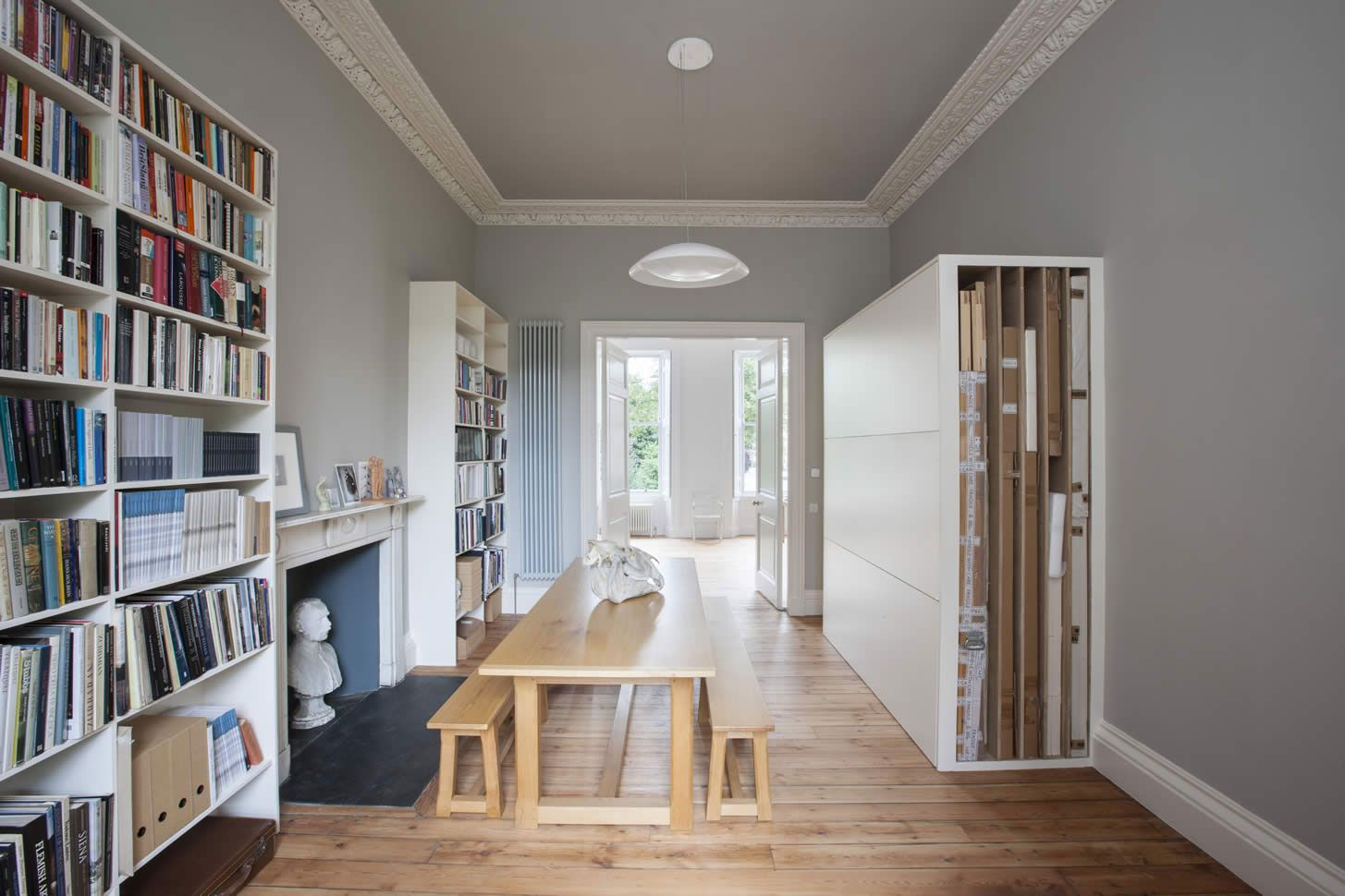 Townhouse in Edinburgh Remodeled by Sarah Lonsdale | Yellowtrace