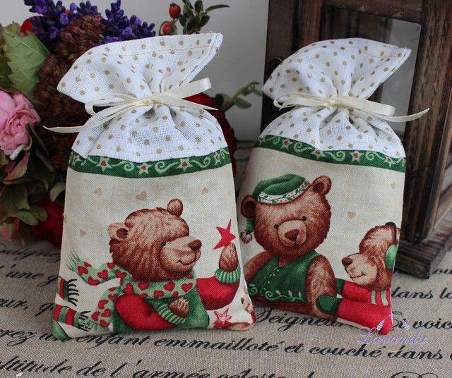 Levandulové vrecúško - Medvedík
