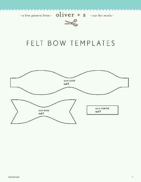 Hair Bow Template Baby stuff Pinterest Hair bow, Template and