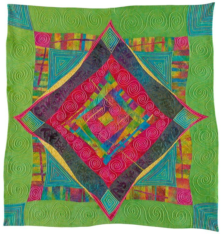Ricky Tims Quilt His Caveman Quilting Class Was So Liberating Colorful Quilts Art Quilts Quilts