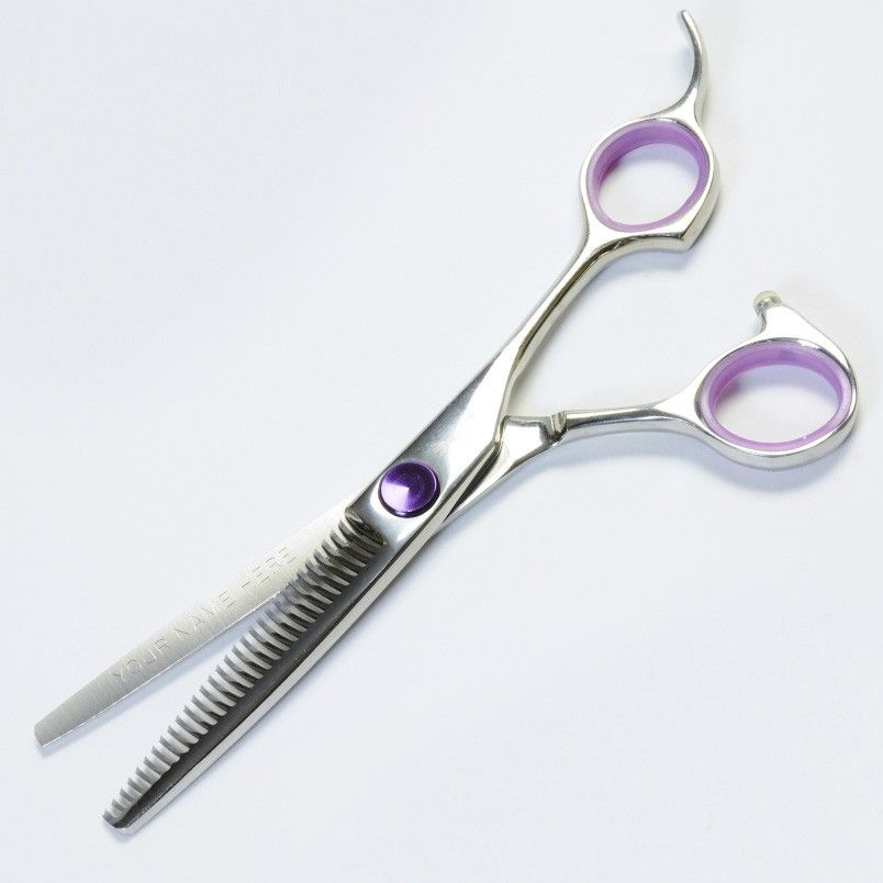 how to use hair thinning scissors on short hair