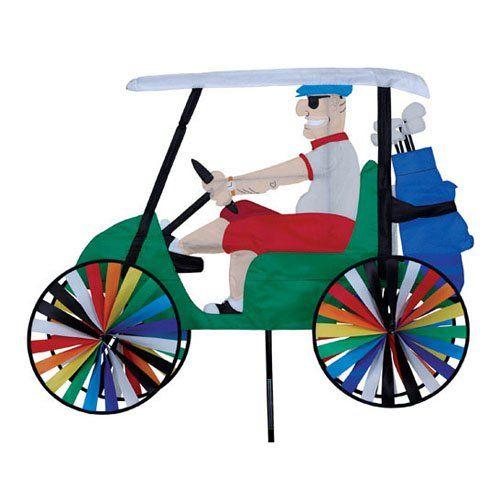 "Uncle Sam 20/"" Bike Patriotic Yard Garden Wind Spinner"