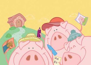 Imagenes Cuento Los Tres Cerditos Three Little Pigs Little Pigs