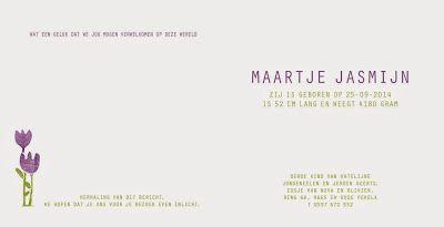 Jolanda Althuis #geboorte kaartje #illustratie #ontwerp #baby #jongen #meisje #druktechniek