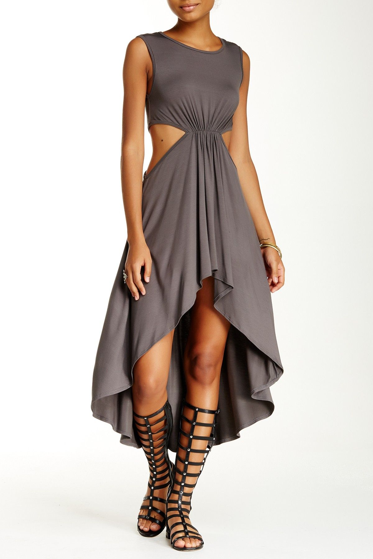 Side cutout dress products pinterest