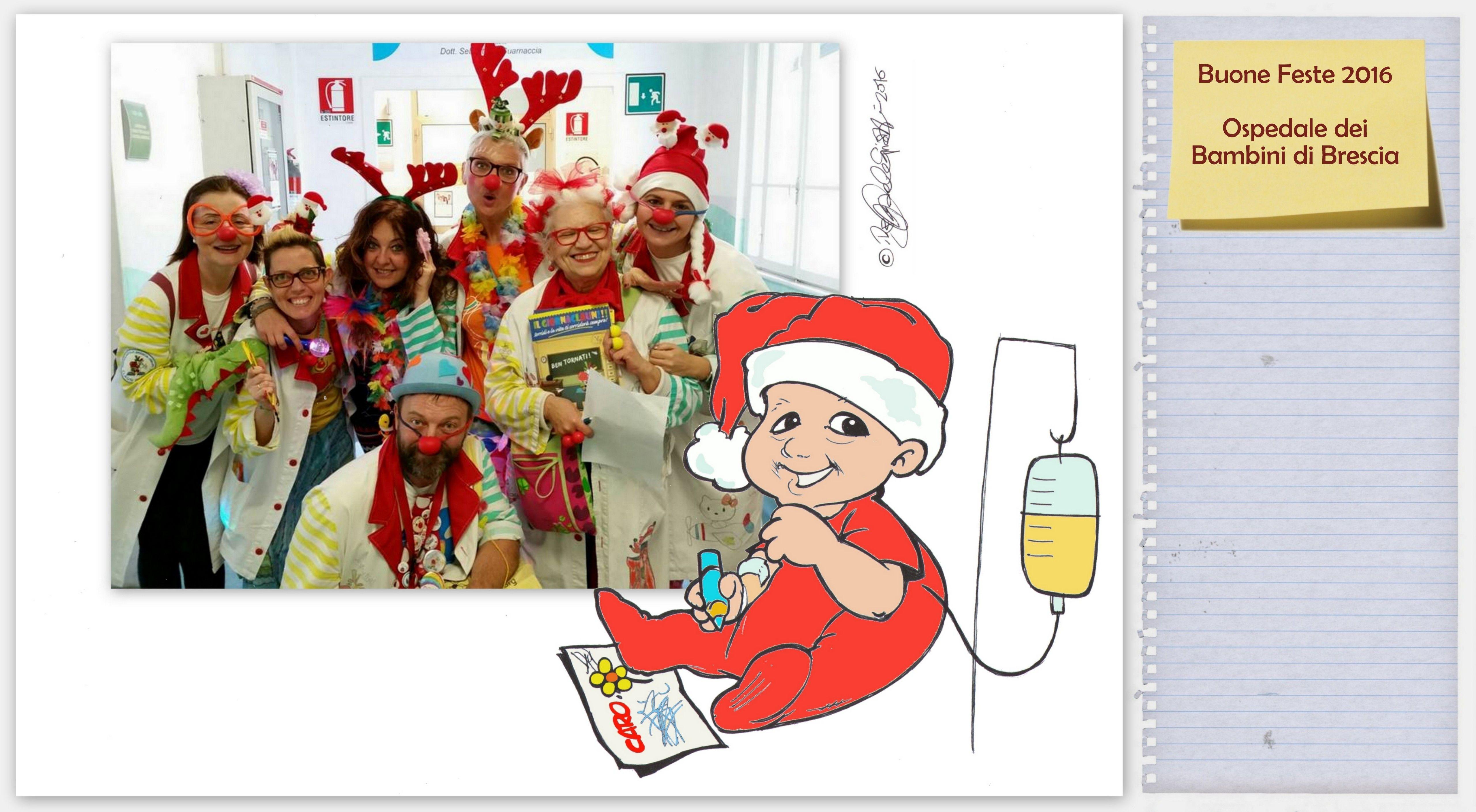 Collage Bambini ~ Buone feste ospedale dei bambini di brescia collage e biro