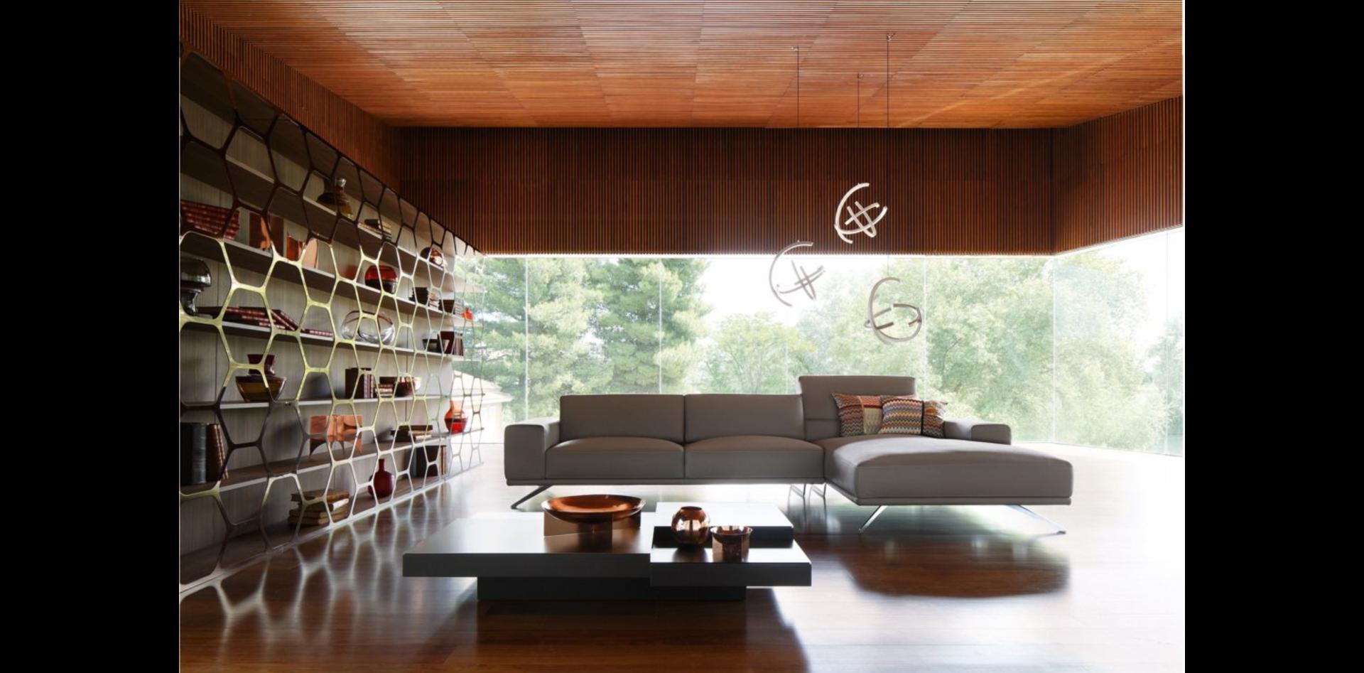 Roche Bobois Pollen Bookcase designed by Sacha Lakic. A