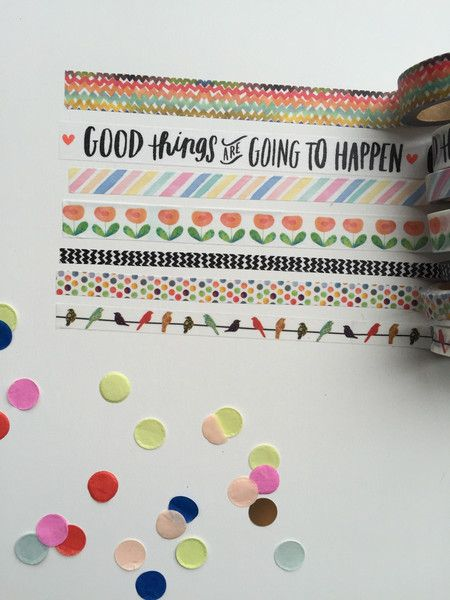 Washi Tape - Good Things Are Going To Happen