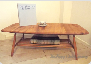 Classic vintage Ercol Coffee Table Midcentury modern style by the