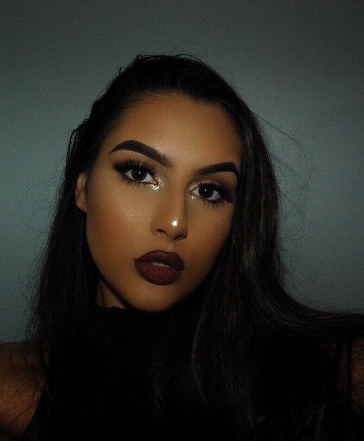 αυвreyтαтe_ ☾♡ Full face makeup, Best makeup products