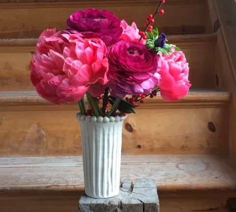 pretty pink tulips: Frances Palmer - Potter, Artist, Gardener