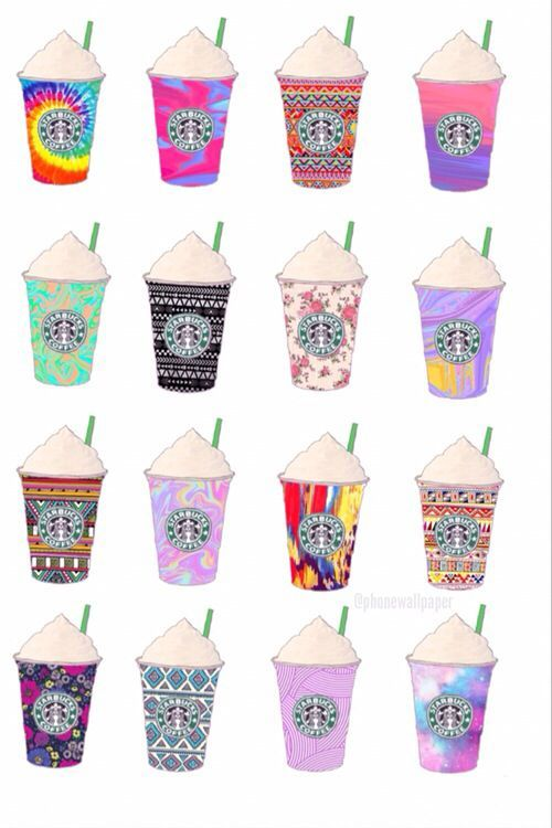 Pretty Tumblr Backgrounds For Girls Google Search Starbucks