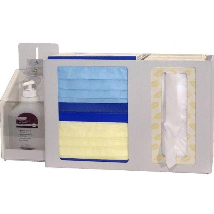 Bowman Respiratory Hygiene Station Is A Wall Mounted Isolation